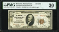 National Bank Notes:Pennsylvania, Red Lion, PA - $10 1929 Ty. 2 The Farmers & Merchants National Bank Ch. # 6708 PMG Very Fine 30.. ...