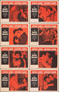 "Movie Posters:Romance, The Black Orchid & Other Lot (Paramount, 1959). Very Fine+. Lobby Card Sets of 8 (2 Sets) & Lobby Card (11"" X 14""). Romance.... (Total: 17 Items)"