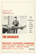 Movie Posters:Comedy, The Graduate (United Artists, 1968). Fine/Very Fine on Lin...