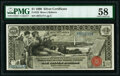 Large Size:Silver Certificates, Fr. 225 $1 1896 Silver Certificate PMG Choice About Unc 58.. ...