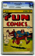 Platinum Age (1897-1937):Miscellaneous, More Fun Comics #25 (DC, 1937) CGC FN- 5.5 Cream to off-white pages.