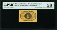 Fr. 1230 5¢ First Issue PMG Choice About Unc 58 EPQ