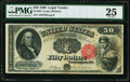 Large Size:Legal Tender Notes, Fr. 164 $50 1880 Legal Tender PMG Very Fine 25.. ...
