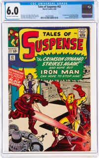 Tales of Suspense #52 (Marvel, 1964) CGC FN 6.0 Off-white to white pages