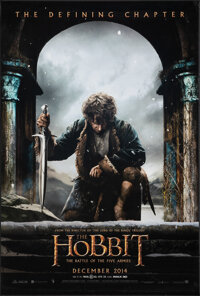 """The Hobbit: The Battle of the Five Armies (Warner Bros., 2014). Rolled, Very Fine. One Sheet (27"""" X 40"""") DS Ad..."""