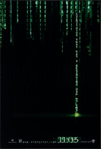 "The Matrix Revolutions (Warner Bros., 2003). Rolled, Very Fine+. Holofoil One Sheet & One Sheets (4) (27"" X 40&..."
