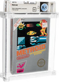 Video Games:Nintendo, Metroid - Wata 9.4 A+ Sealed [Rev-A, Round SOQ, Mid-Production], NES Nintendo 1987 USA....