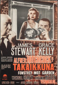 """Movie Posters:Hitchcock, Rear Window (Paramount, R-1960s). Rolled, Very Fine. Finnish Poster (16"""" X 23.5""""). Hitchcock.. ..."""