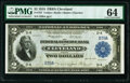 Large Size:Federal Reserve Bank Notes, Low Serial Number D39A Fr. 757 $2 1918 Federal Reserve Bank Note PMG Choice Uncirculated 64.. ...