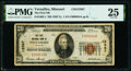 National Bank Notes:Missouri, Versailles, MO - $20 1929 Ty. 1 The First National Bank Ch. # 13367 PMG Very Fine 25.. ...
