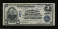 National Bank Notes:Missouri, Saint Joseph, MO - $5 1902 Plain Back Fr. 606 The Tootle-...