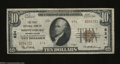 National Bank Notes:Pennsylvania, Shippensburg, PA - $10 1929 Ty. 2 The First NB Ch. # ...