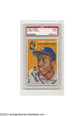 Baseball Cards:Singles (1950-1959), 1954 TOPPS HENRY AARON #128 EX PSA 5. Rookie card of all-...