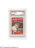Baseball Cards:Singles (1950-1959), 1959 TOPPS MICKEY MANTLE #10 NM PSA 7.
