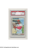 Baseball Cards:Singles (1970-Now), 1970 TOPPS BOB GIBSON #530 NM/MT PSA 8. HOF pitcher Bob ...