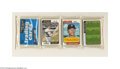 Baseball Cards:Other, 1974 TOPPS BASEBALL RACK PACK W/CARL YASTRZEMSKI ON TOP. ...