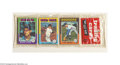 Baseball Collectibles:Others, 1975 TOPPS BASEBALL RACK PACK W/CARL YASTRZEMSKI ON TOP. ...