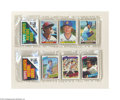 Baseball Cards:Other, 1979-1983 TOPPS BASEBALL RACK PACKS W/CARL YASTRZEMSKI ON ... (5items)