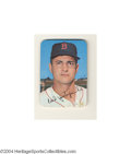 "Baseball Cards:Singles (1960-1969), 1969 TOPPS SUPER CARL YASTRZEMSKI #5. These 2-1/4"" x 3-1/4""..."