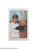 Baseball Cards:Singles (1970-Now), 1970 TOPPS SUPER CARL YASTRZEMSKI #29 PROOF. A rare ...