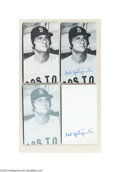 Baseball Cards:Singles (1970-Now), 1974 TOPPS DECKLE EDGE CARL YASTRZEMSKI #43 PROOF CARDS LOT ... (6cards)