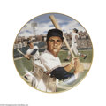 Baseball Cards:Other, CARL YASTRZEMSKI BRADFORD EXCHANGE #10329A PLATE. Here you'...