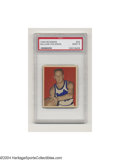 "Basketball Cards:Singles (Pre-1970), 1948 BOWMAN WILLIAM ""RED"" HOLZMAN #32 Mint PSA 9."