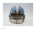 Autographs:Helmets, Houston Oilers 1960-63 Reproduction Helmet Autographed By ...