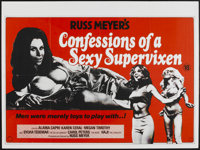 "Good Morning...and Goodbye! (Eve Productions, 1967). British Quad (30"" X 40""). Also known as Confessions of a..."