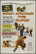 "Movie Posters:Rock and Roll, Rock Around the Clock (Columbia, 1956). One Sheet (27"" X 41""). Rockand Roll...."