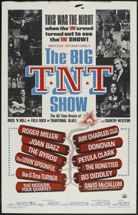 "The Big T.N.T. Show (American International, 1966). One Sheet (27"" X 41""). Rock and Roll"