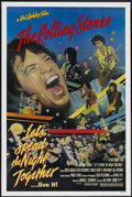 "Movie Posters:Rock and Roll, Let's Spend the Night Together (Columbia, 1983). One Sheet (27"" X41""). Rock and Roll...."