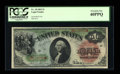 Fr. 18 $1 1869 Legal Tender PCGS Extremely Fine 40PPQ