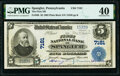 National Bank Notes:Pennsylvania, Spangler, PA - $5 1902 Plain Back Fr. 598 The First National Bank Ch. # 7181 PMG Extremely Fine 40.. ...