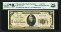 National Bank Notes:North Carolina, Mooresville, NC - $20 1929 Ty. 1 The First National Bank Ch. # 9531 PMG Very Fine 25.. ...
