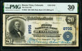National Bank Notes:Colorado, Buena Vista, CO - $20 1902 Plain Back Fr. 652 The First National Bank Ch. # 8735 PMG Very Fine 30.. ...