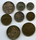 Ireland, Ireland: Free State 8-Piece Uncertified Mint Set 1928,... (Total: 8 coins)