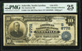 Asheville, NC - $10 1902 Plain Back Fr. 626 The American National Bank Ch. # (S)8772 PMG Very Fine 25