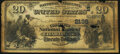 Charlotte, NC - $20 1882 Date Back Fr. 552 The Commercial National Bank Ch. # (S)2135 Very Good