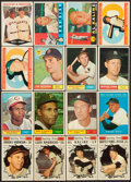 Baseball Cards:Lots, 1960-61 Topps Baseball Stars & HoFers Collection (16). ...