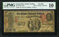 Fayetteville, NC - $1 1875 Fr. 383 The Peoples National Bank Ch. # 2003 PMG Very Good 10