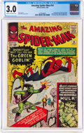 Silver Age (1956-1969):Superhero, The Amazing Spider-Man #14 (Marvel, 1964) CGC GD/VG 3.0 Cream to off-white pages....