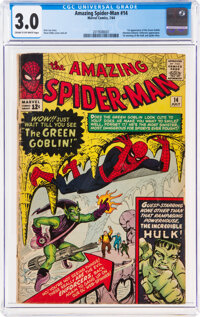 The Amazing Spider-Man #14 (Marvel, 1964) CGC GD/VG 3.0 Cream to off-white pages