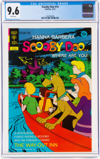 Scooby Doo #14 (Gold Key, 1972) CGC NM+ 9.6 White pages