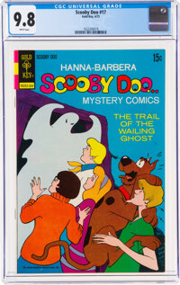 Scooby Doo #17 (Gold Key, 1973) CGC NM/MT 9.8 White pages