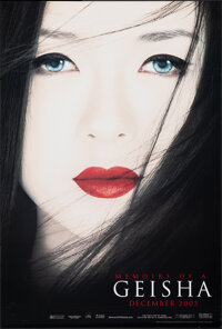 """Memoirs of a Geisha & Other Lot (Columbia, 2005). Rolled, Very Fine+. One Sheets (2) (26.75"""" X 39.75"""" &..."""