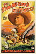"""Movie Posters:Western, Col. Tim McCoy's Real Wild West (1938). Fine/Very Fine on Linen. One Sheet (27"""" X 41"""") Style D.. ..."""