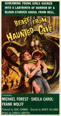 Movie Posters:Horror, Beast from Haunted Cave (Filmgroup, 1959). Very Fine- on L...