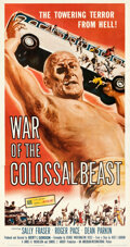 Movie Posters:Science Fiction, War of the Colossal Beast (American International, 1958). ...