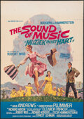 "Movie Posters:Academy Award Winners, The Sound of Music (20th Century Fox, 1965). Folded, Fine/Very Fine. Belgian (17.75"" X 25"") Raymond Elseviers Artwork. Acade..."